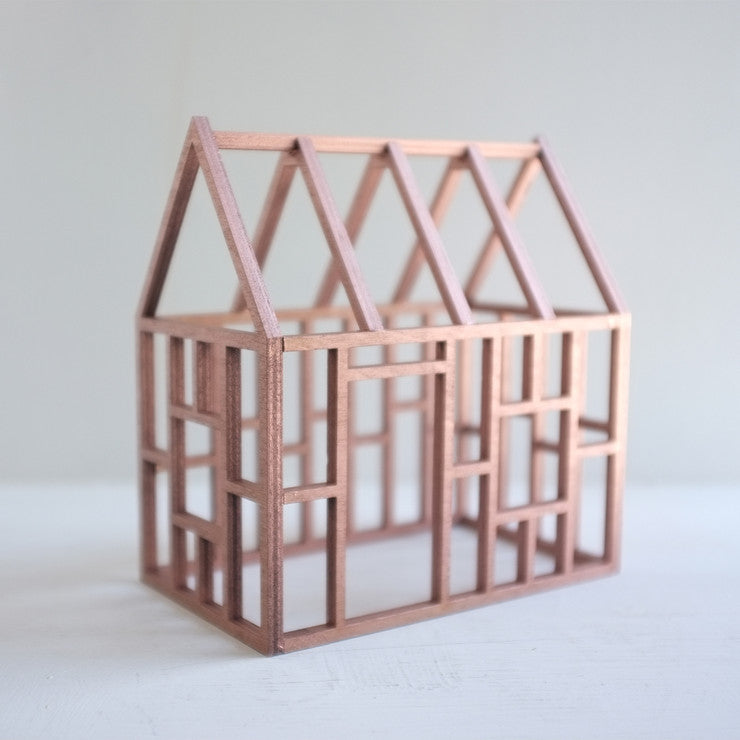 Birch Frame House Lg Rose Gold