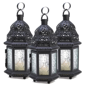 Lanterns Clear 3 Pack