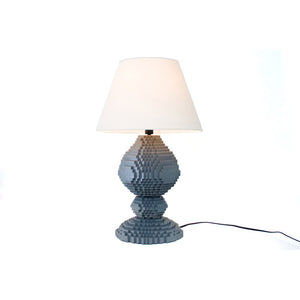 DeVoe Sculpture Lamp Gray
