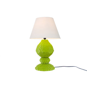 DeVoe Sculpture Lamp Lime