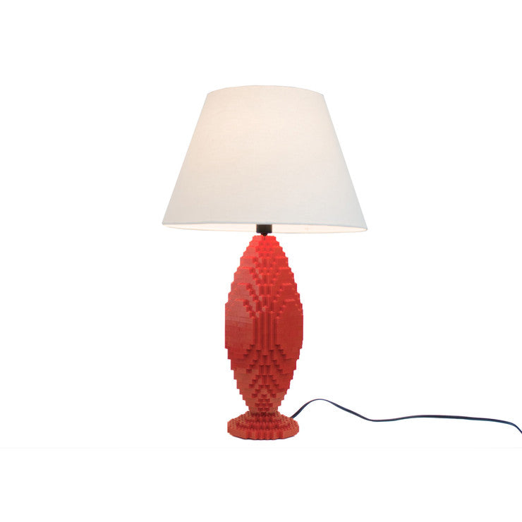 Lafayette Sculpture Lamp Red