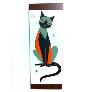 Cat & Butterfly Panel I