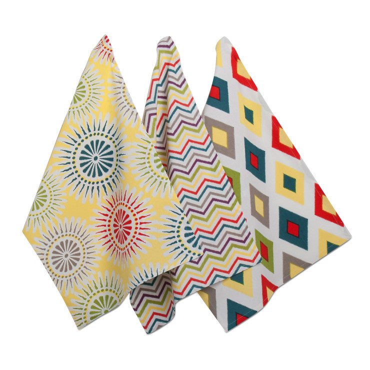 Del Sol Dishtowel Set Of 3