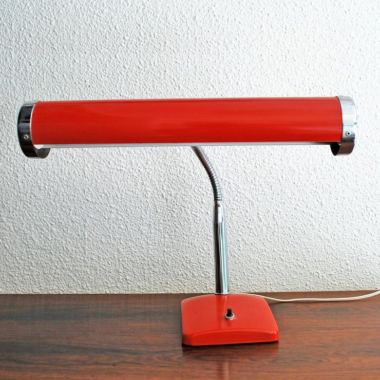 Desk Lamp Orange