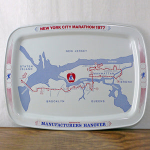 1977 NYC Marathon Tray