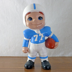 Ceramic Football Player