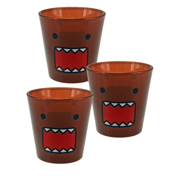 Face Oversized Shot Glass 3 Pack