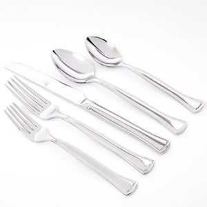 Grand Abbey Flatware 45Pc