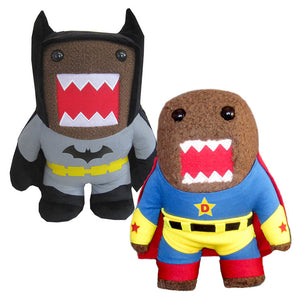 Batman Blk & Super Hero Plush S