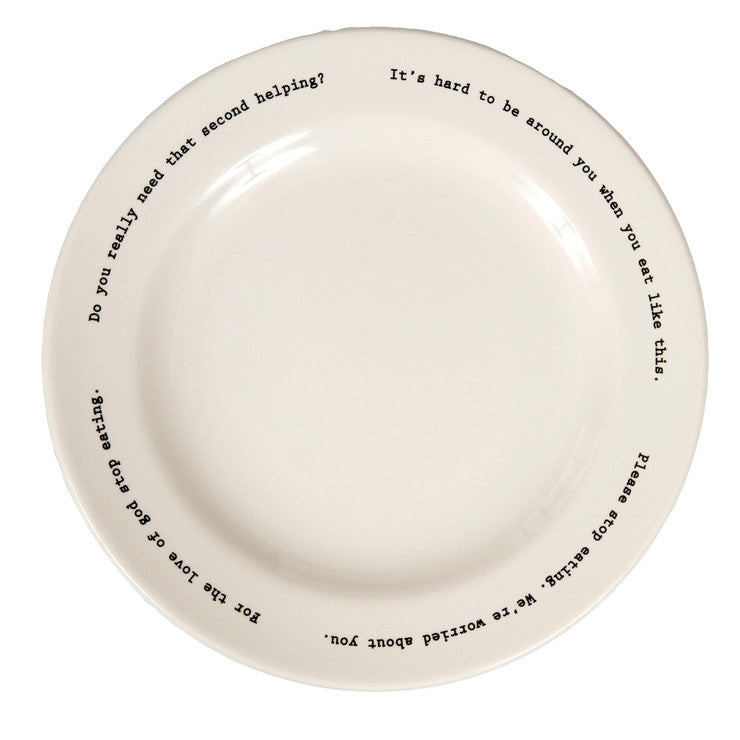 Intervention Plate Set Of 2