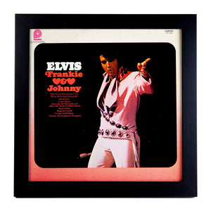 Framed Elvis Album