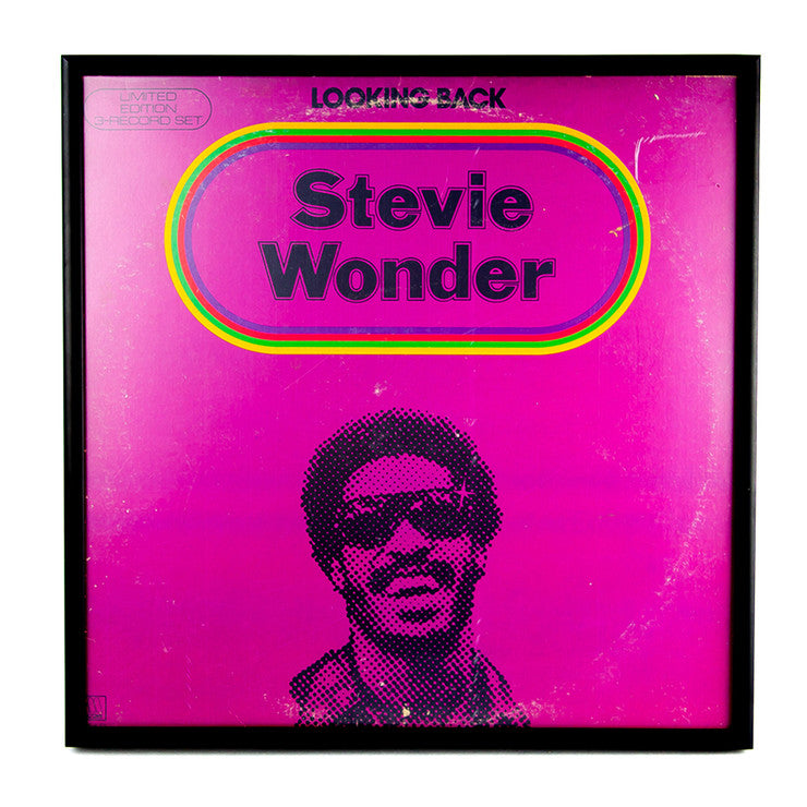 Framed Stevie Wonder Album III