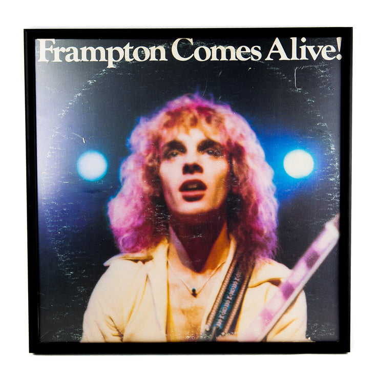Framed Peter Frampton Album II