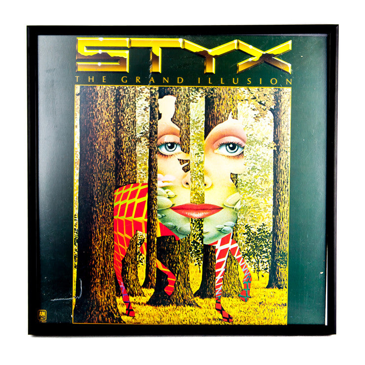 Framed Styx Album