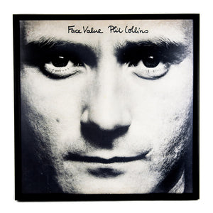 Framed Phil Collins Album