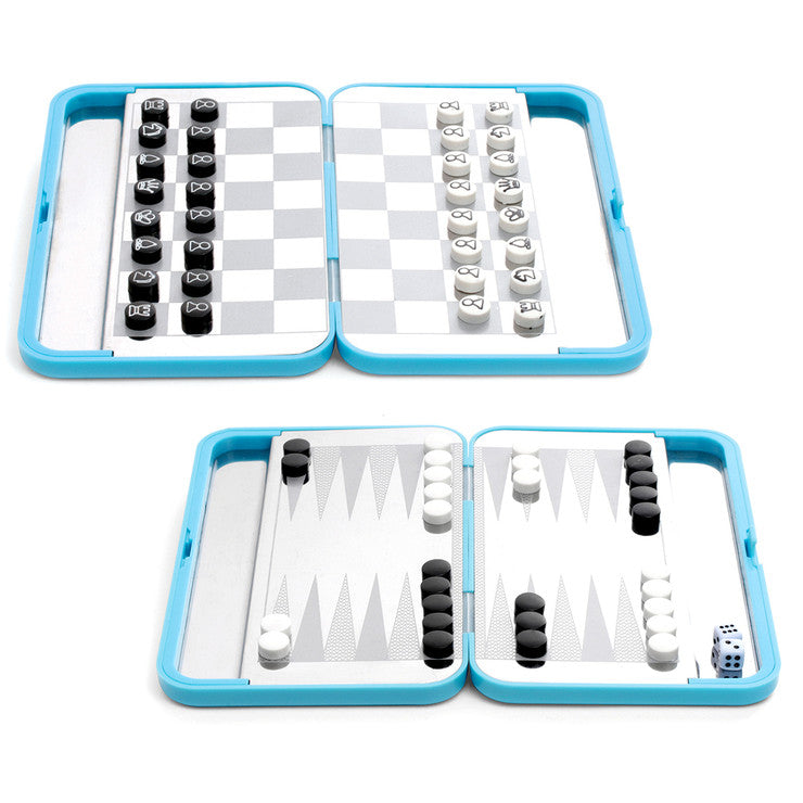 Retro Travel Chess & Backgammon