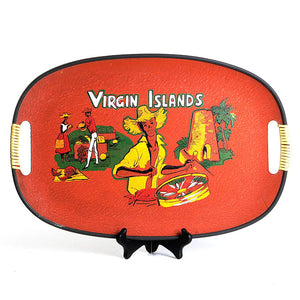 1950s Virgin Islands Tray