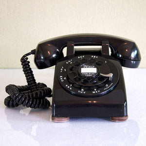 1957 Black Dial Desk Phone