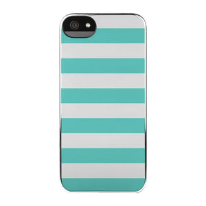 iPhone 5/5S Snap Case Chev Turq