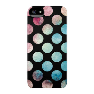 iPhone 5/5S Snap Case Black Dots