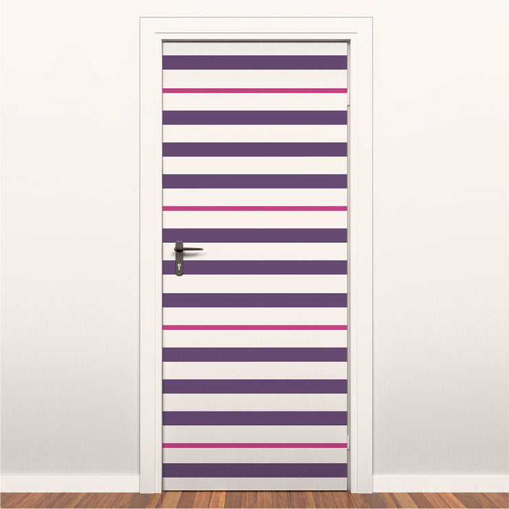 Easy Stripes 2 Pack Pink Purple