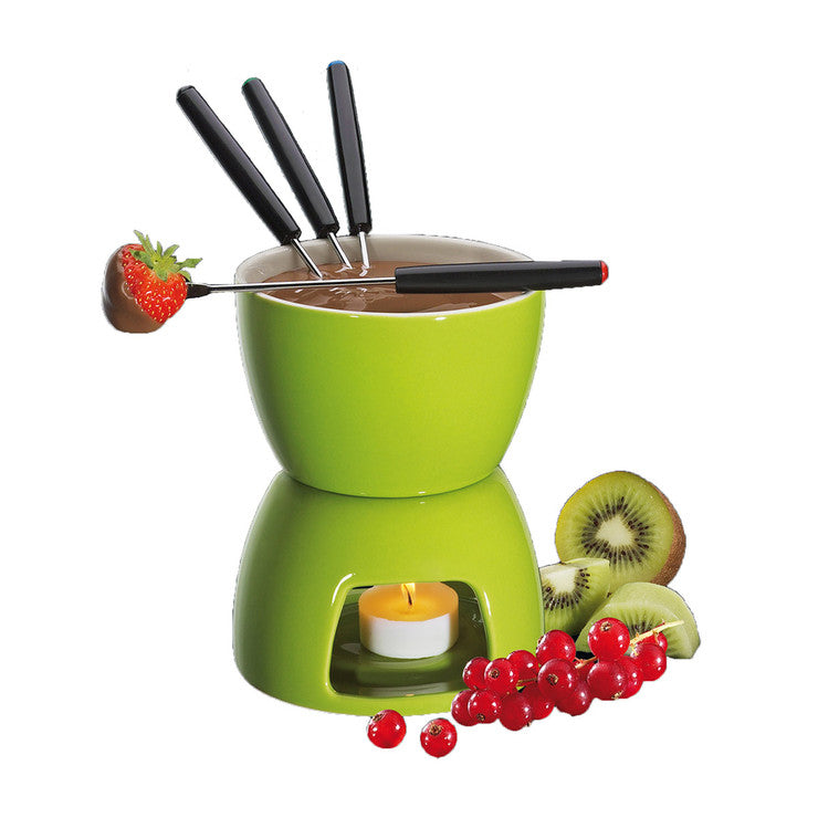 Chocolate Fondue Green
