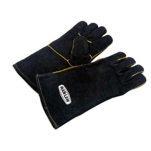 14\ Leather BBQ Gloves""