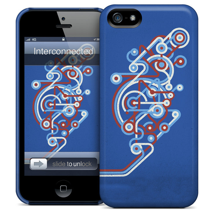 Interconnected iPhone Case