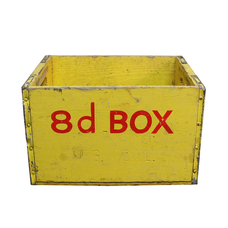 16D Crate Yellow