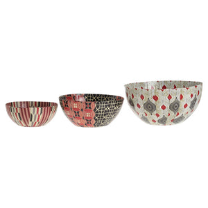 African Bowl Set Red