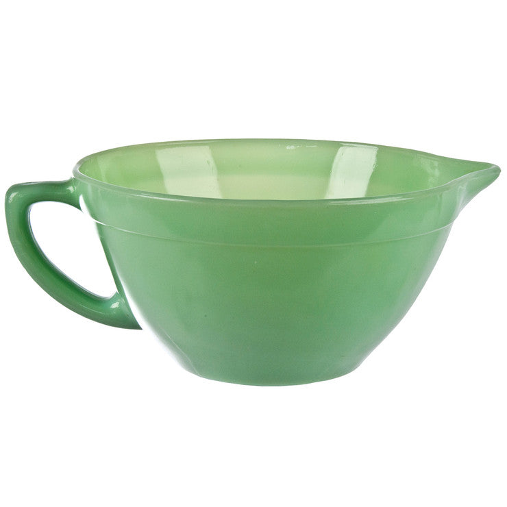 Jadeite Glass Batter Bowl