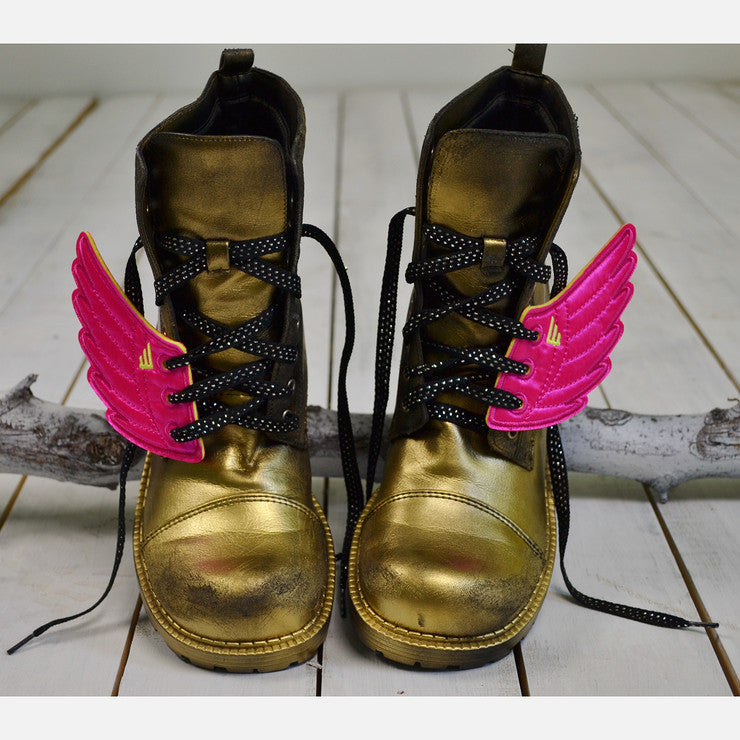 I Believe I Can FLY Combat Boots