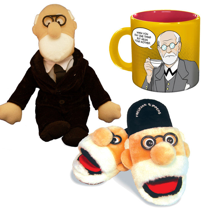 Freud Set With Small Slippers