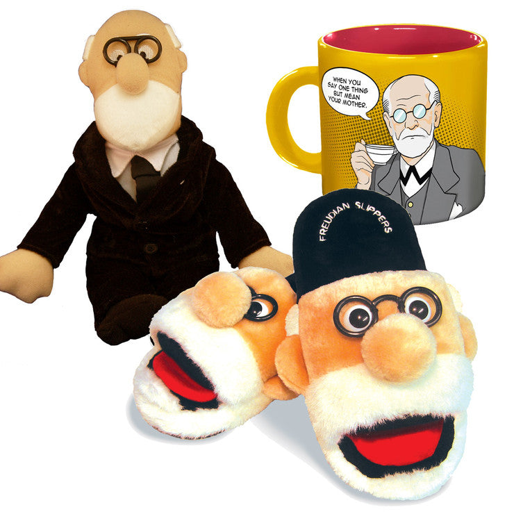 Freud Set With Large Slippers