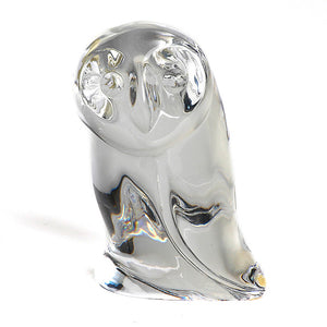 Atlantis Crystal Owl Paperweight