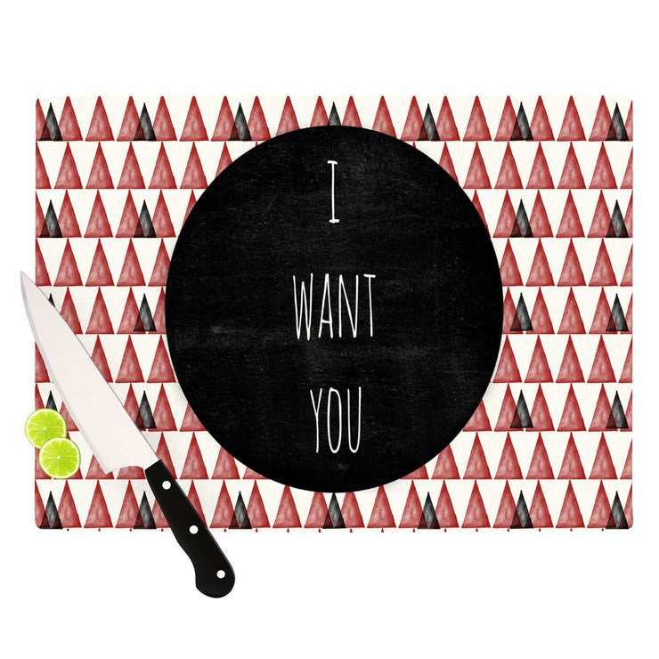 I Want You Cutting Board