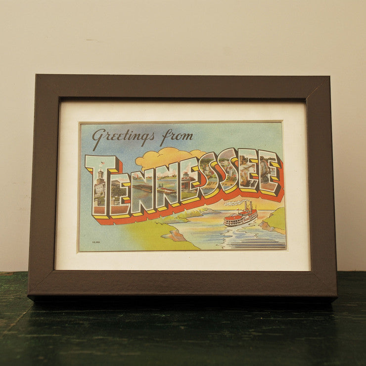 Framed Tennessee Postcard