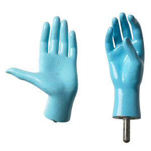 Blue Female Mannequin Hands II