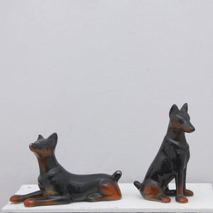 Doberman Salt & Pepper Shaker
