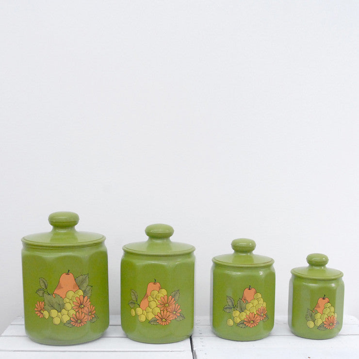 Green Canister Set