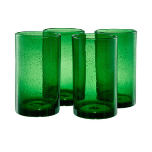 Iris Highball Green Set Of 4