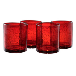 Iris DOF Ruby Set Of 4