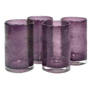 Iris Highball Plum Set Of 4