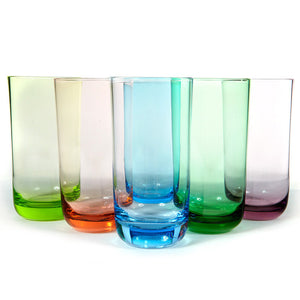 Glass Tumblers Set Of 6