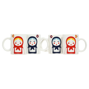 Babushka Mug Set Of 4
