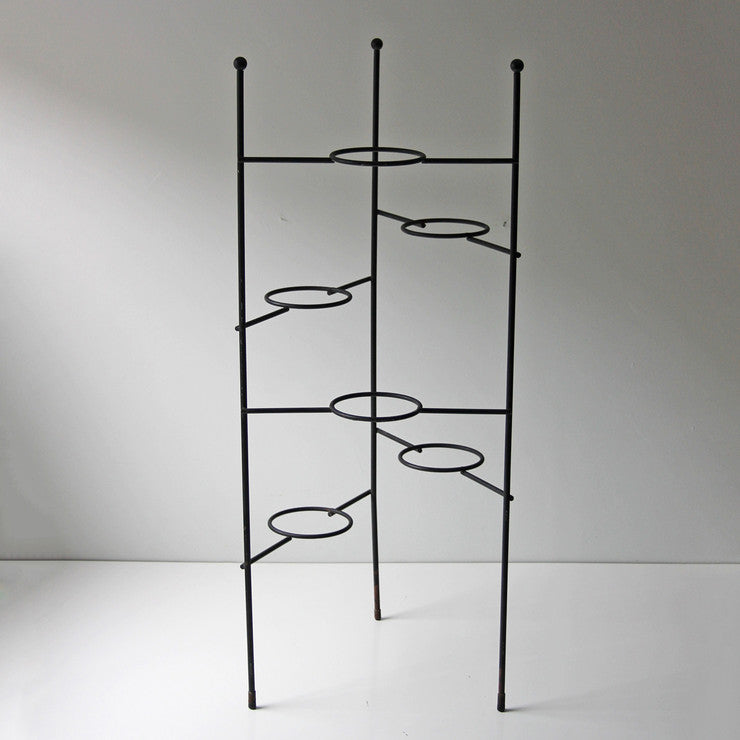 Black Wire Plant Stand