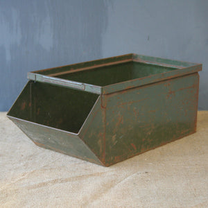 Green Industrial Stack Bin
