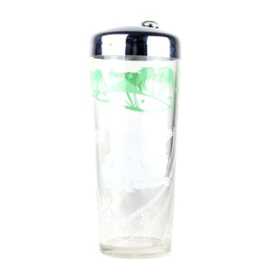 Cocktail Shaker With Silver Top