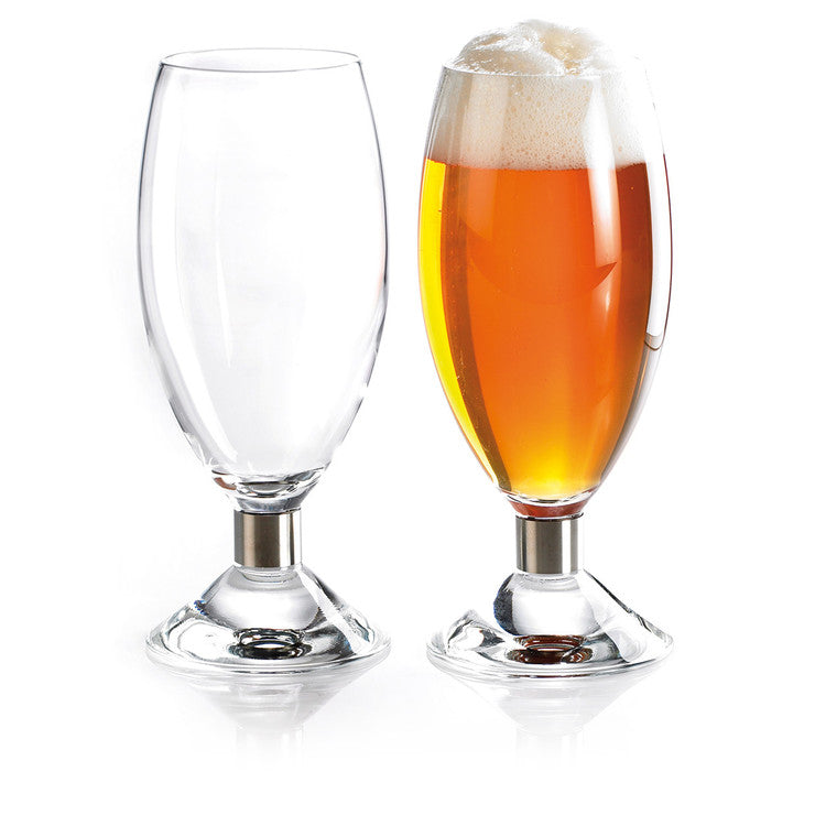 EB Beer Glass 16.9oz Set Of Two