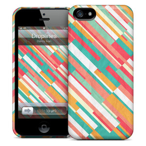Droplines iPhone Case